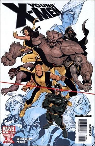 Couverture de Young X-Men (2008) -1- Final genesis