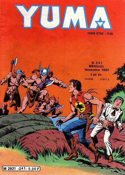 Couverture de Yuma (1re série) -241- Le dernier viking !