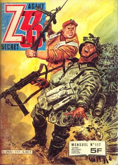 Couverture de Z33 agent secret -117- L'odyssée du capitaine