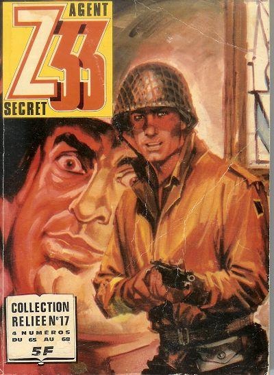 Couverture de Z33 agent secret -Rec17- Collection reliée N°17 (du n°65 au n°68)