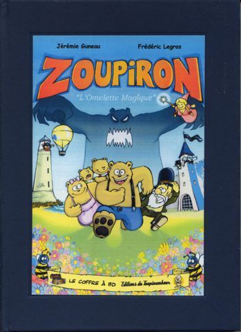 Couverture de Zoupiron -1- L'Omelette Magique