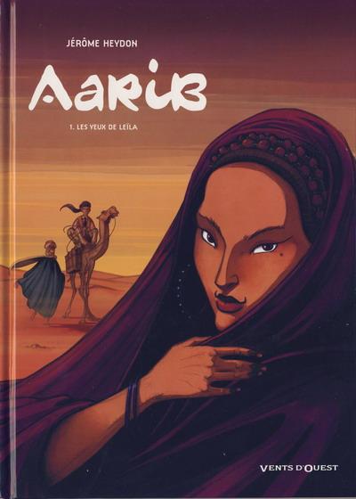 Couverture de Aarib -1- Les yeux de Leïla
