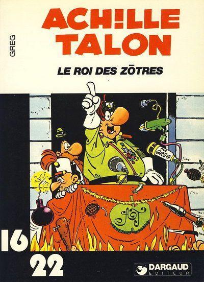 Couverture de Achille Talon (16/22) -12123- Le roi des zôtres