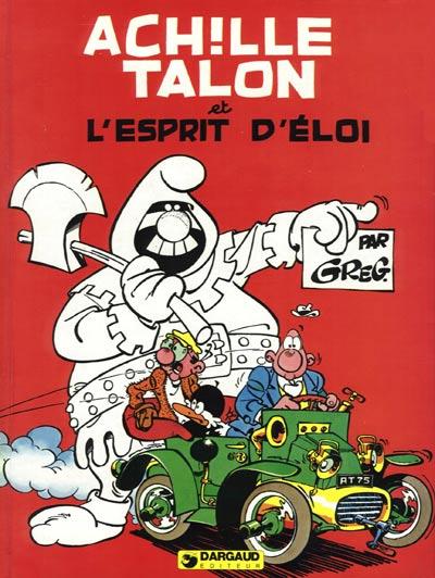 Couverture de Achille Talon -25- Achille Talon et l'esprit d'Éloi