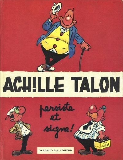 Couverture de Achille Talon -3- Achille Talon persiste et signe !