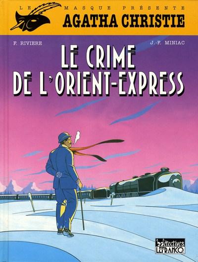 Couverture de Agatha Christie (CLE) -1- Le crime de l'Orient-Express
