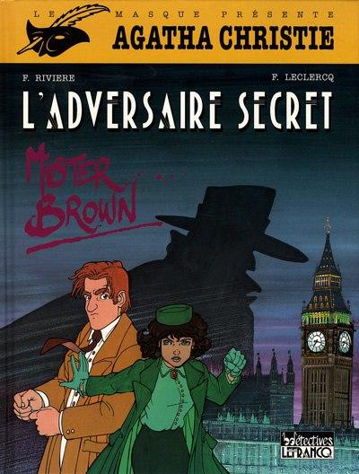 Couverture de Agatha Christie (CLE) -2- L'Adversaire secret