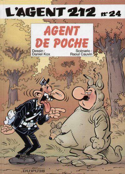 Couverture de L'agent 212 -24- Agent de poche