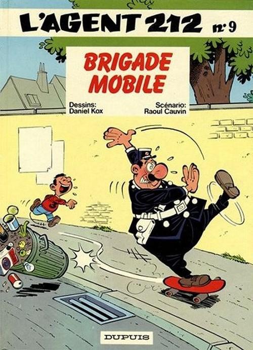 Couverture de L'agent 212 -9- Brigade mobile