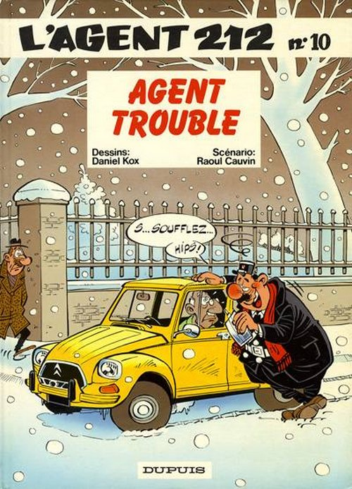 Couverture de L'agent 212 -10- Agent trouble