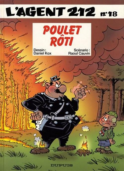 Couverture de L'agent 212 -18- Poulet rôti