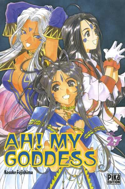 Couverture de Ah! My Goddess -27- Tome 27