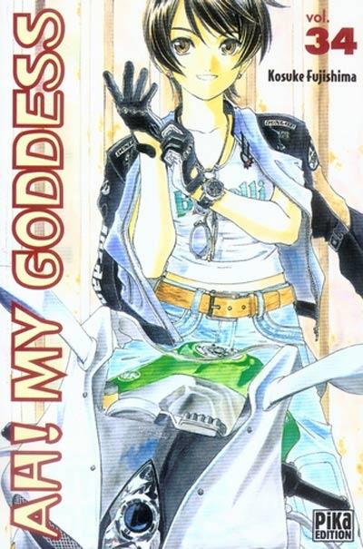 Couverture de Ah! My Goddess -34- Tome 34