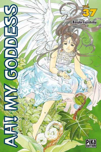 Couverture de Ah! My Goddess -37- Tome 37