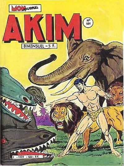 Couverture de Akim (1re série) -584- La colline de la mort lente