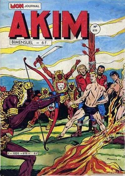 Couverture de Akim (1re série) -619- La jungle endormie