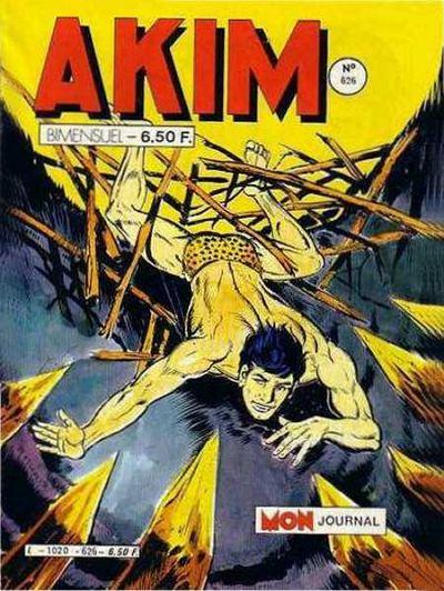 Couverture de Akim (1re série) -626- Le soleil vert