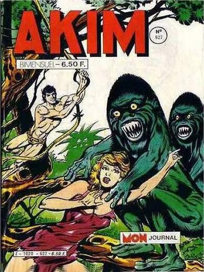 Couverture de Akim (1re série) -627- Les monstres de l'espace