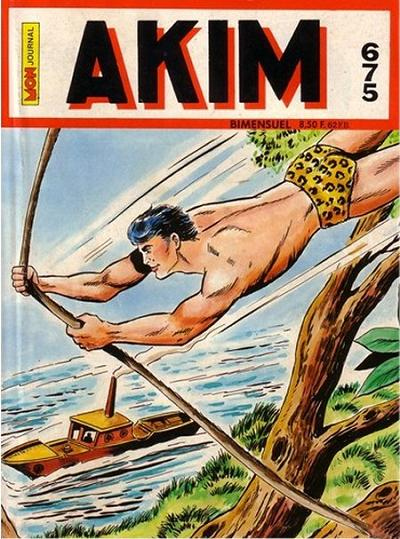 Couverture de Akim (1re série) -675- La loi de la jungle