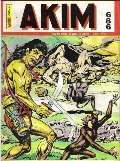 Couverture de Akim (1re série) -686- La main de feu