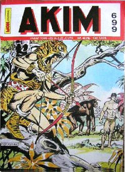 Couverture de Akim (1re série) -699- Pique et pique et Patapam