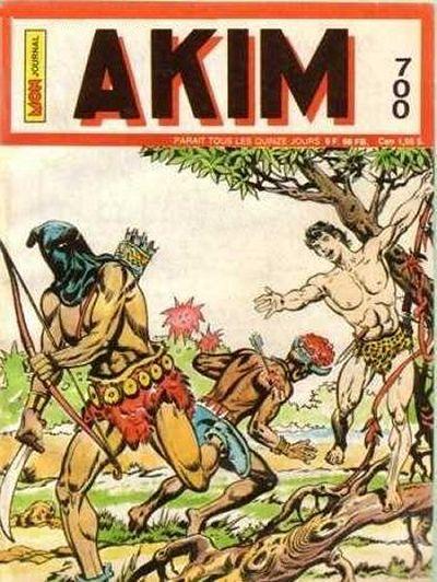 Couverture de Akim (1re série) -700- L'homme à la cagoule noire