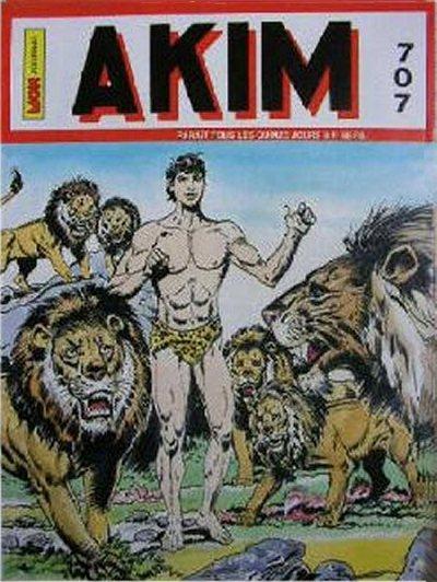 Couverture de Akim (1re série) -707- La loi des lions