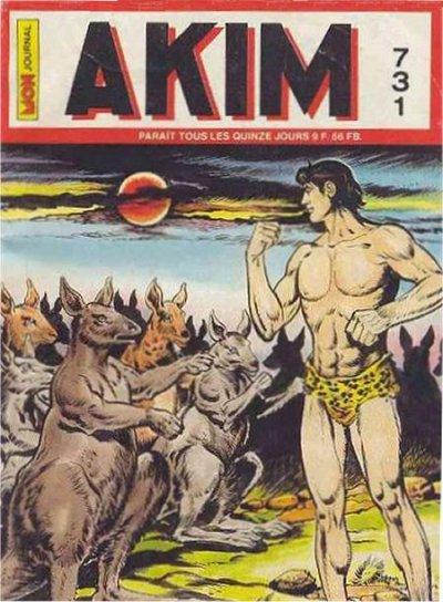 Couverture de Akim (1re série) -731- La folle bataille