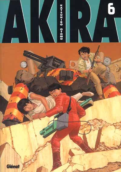 Couverture de Akira (Glénat en N&B) -6- Tome 6