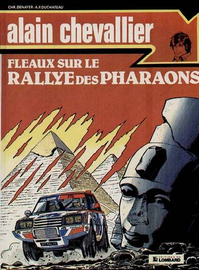 Couverture de Alain Chevallier -158- Fléaux sur le rallye des pharaons