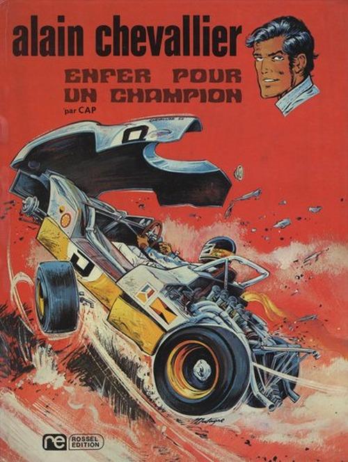 Couverture de Alain Chevallier -1- Enfer pour un champion