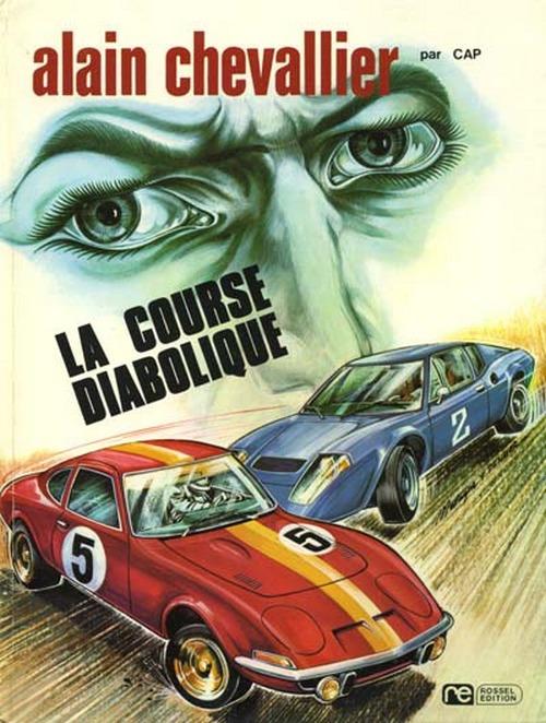 Couverture de Alain Chevallier -2- La course diabolique