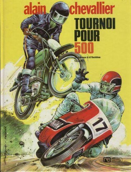 Couverture de Alain Chevallier -3- Tournoi pour 500