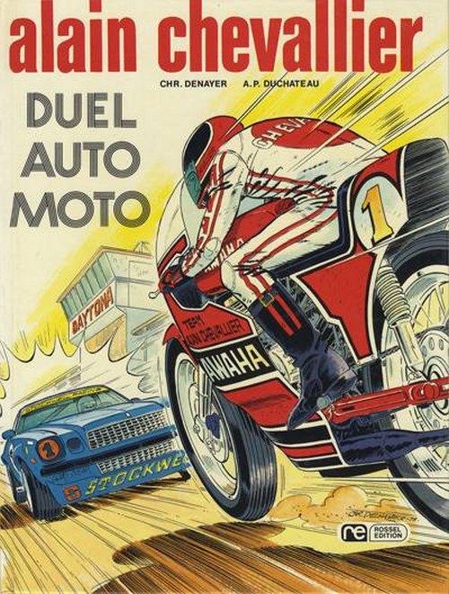 Couverture de Alain Chevallier -7- Duel Auto Moto