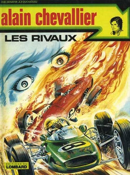 Couverture de Alain Chevallier -81- Les rivaux