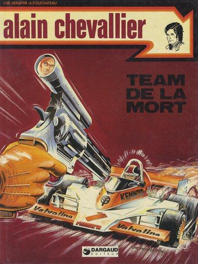 Couverture de Alain Chevallier -92- Team de la mort
