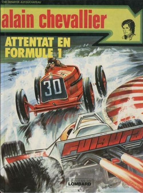 Couverture de Alain Chevallier -114- Attentat en formule 1