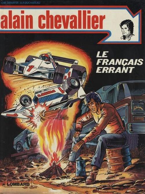 Couverture de Alain Chevallier -125- Le Français errant