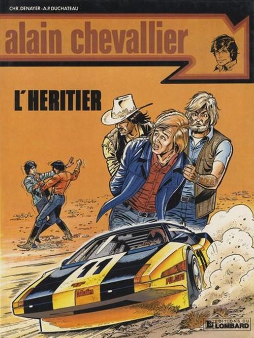 Couverture de Alain Chevallier -136- L'héritier