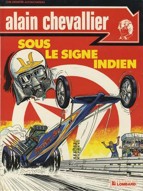 Couverture de Alain Chevallier -147- Sous le signe indien
