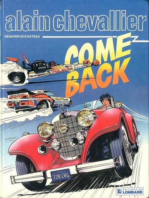 Couverture de Alain Chevallier -169- Come Back