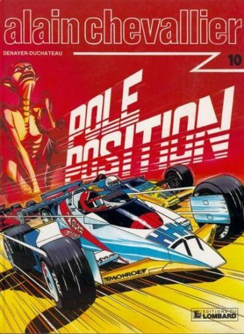 Couverture de Alain Chevallier -1710- Pole position