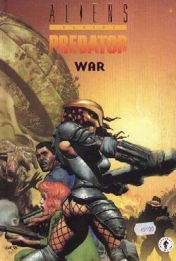 Couverture de Aliens versus Predator -4- War (2)