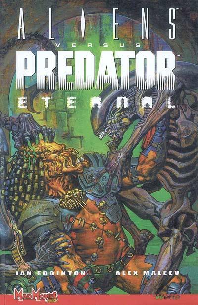Couverture de Aliens versus Predator : Eternal - Tome 1