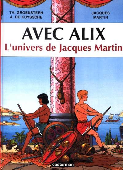 Couverture de Alix -HS03c- Avec Alix - L'univers de Jacques Martin
