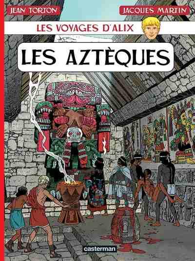 Couverture de Alix (Les Voyages d') -22- Les Aztèques