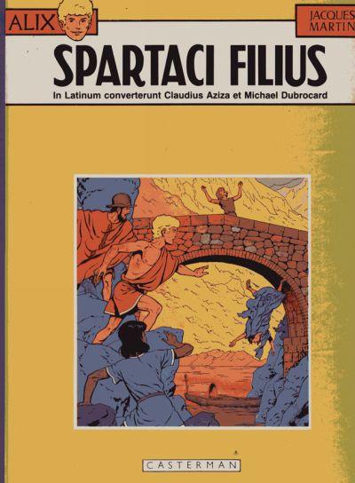 Couverture de Alix (en langues étrangères) -12Latin- Spartaci filius