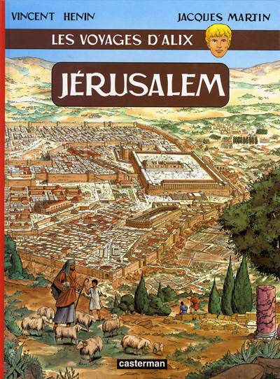 Couverture de Alix (Les Voyages d') -14- Jérusalem