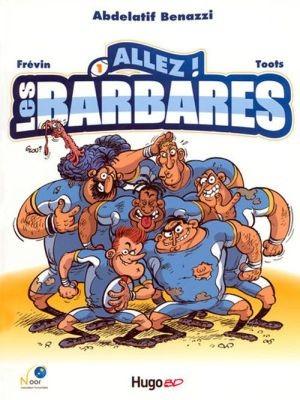 Couverture de Les barbares -1- Allez ! Les Barbares