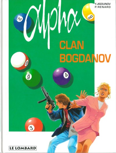Couverture de Alpha -2- Clan Bogdanov
